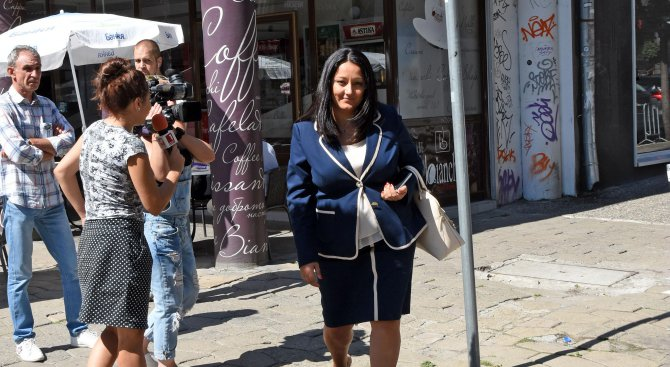 Разпитаха Лиляна Павлова като свидетел за НДК (снимки)