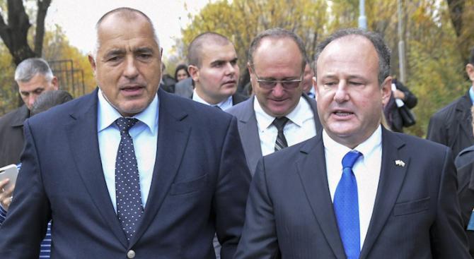 Бойко Борисов се срещна с посланика на САЩ