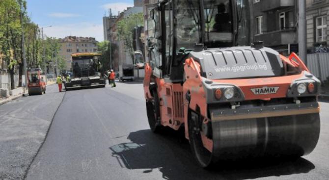 Ето защо се бави асфалтирането на улиците в Шумен