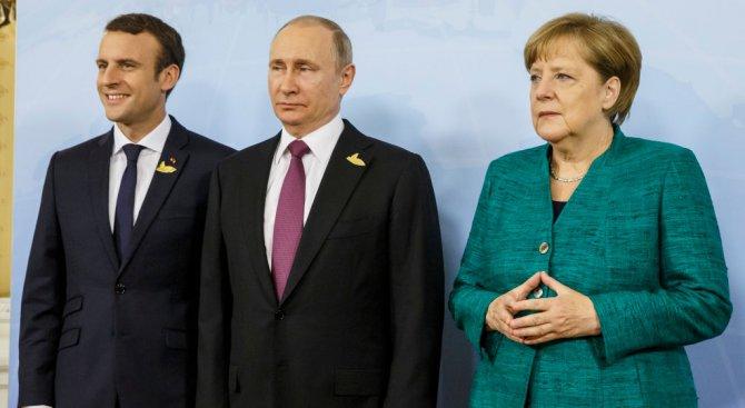 Лидерите на Германия, Франция, Русия и Украйна разговаряха по телефона
