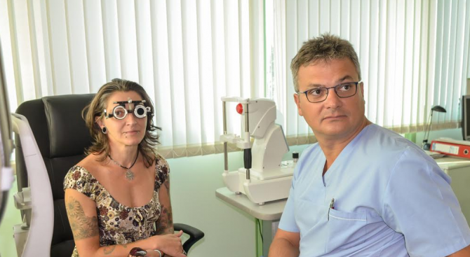 Млада жена възстанови зрението си от 10 на 100% с лазерна корекция