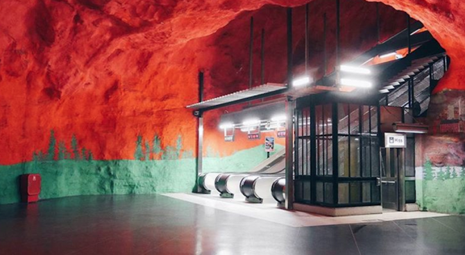 Това ли е най-красивото метро в света