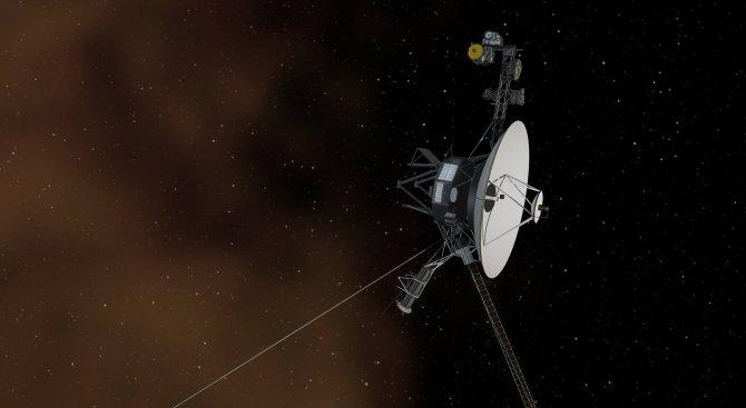 """НАСА ще изпрати поздрав до """"Вояджър-1"""""""