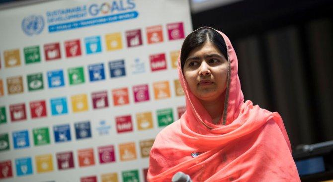 Нобеловият лауреат Малала Юсафзай ще учи в Оксфорд (снимка)