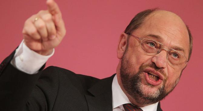 Мартин Шулц призова за изтегляне на американските ядрени оръжия от Германия