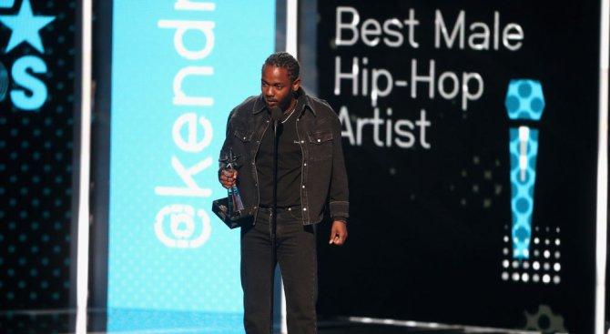 Кендрик Ламар – големият победител на наградите на MTV