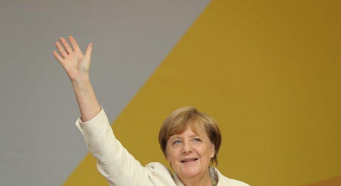 Меркел обеща да увеличи благосъстоянието и сигурността на германците
