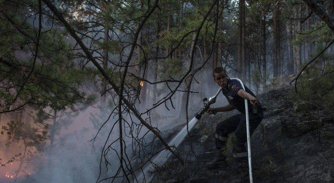 Огненият ад край Кресна продължава. Евакуират село Влахи (обновена+снимки+видео)
