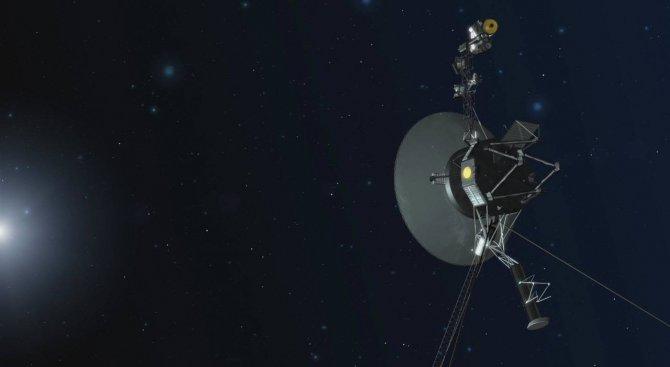 """Ето какво съобщение потегля към """"Вояджър 1"""""""