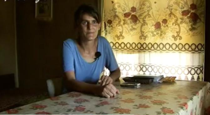 Мария, която изостави бебето си в София, показа дома си