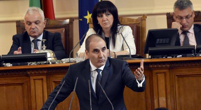 Цветанов след отхвърлянето на ветото на президента: Аргументите в пленарна зала бяха по силни