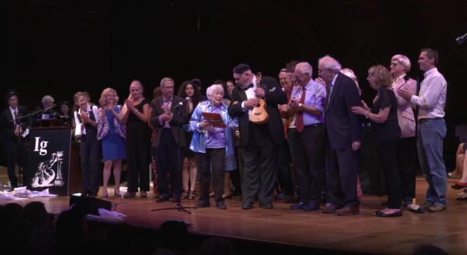 Раздадоха Антинобеловите награди за 2017 (видео)