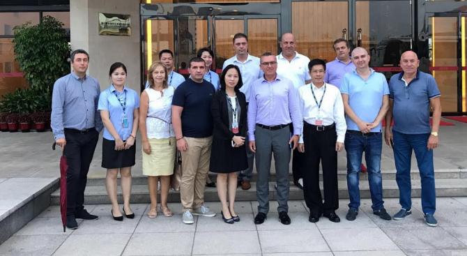Делегация на ГЕРБ представи черноморските пристанища в китайския град Сямън