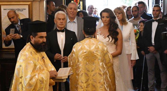 Деница Гаджева и Волен Сидеров се ожениха (снимки)