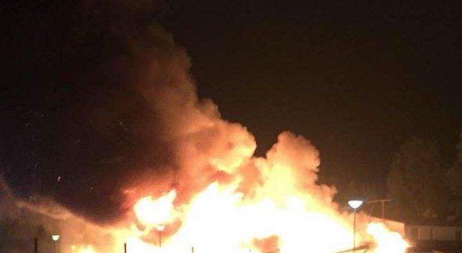 Подпалиха джамия в Швеция (снимка)