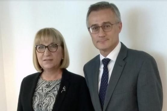Цецка Цачева се срещна с правосъдния министър на Люксембург