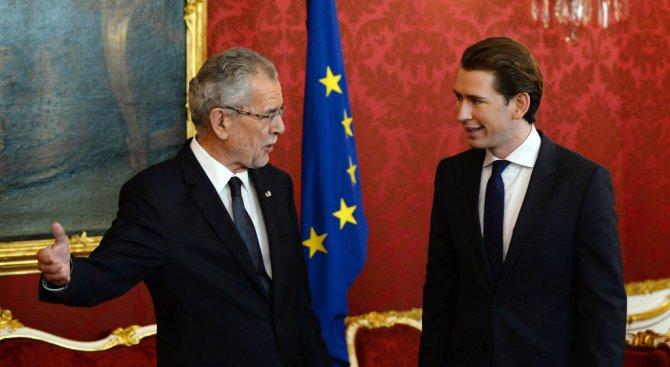 Президентът на Австрия възложи на Себастиан Курц мандат да състави правителство