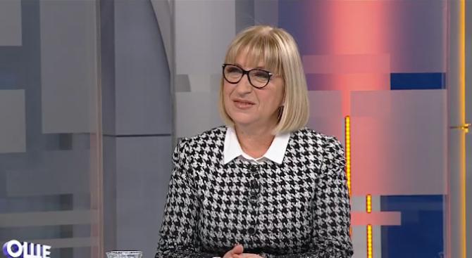 Цецка Цачева: Бонусите в съдебната система се дават за показани резултати