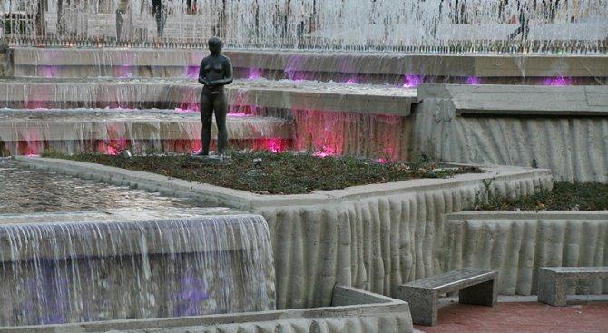 В Плевен пуснаха Водната каскада след реконструкция с европейски средства