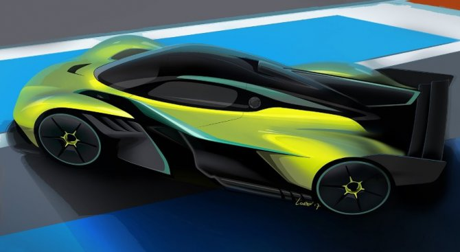 Aston Martin Valkyrie обещава Ф1 времена и над 400 км/ч