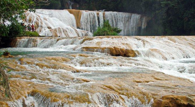 Водопадите Агуа Асул в Мексико се изпариха (видео)