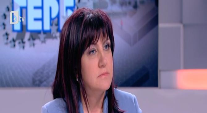 Цвета Караянчева: Ще се опитам да бъда повече равна, отколкото първа