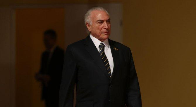 Изписаха президента на Бразилия след операцията