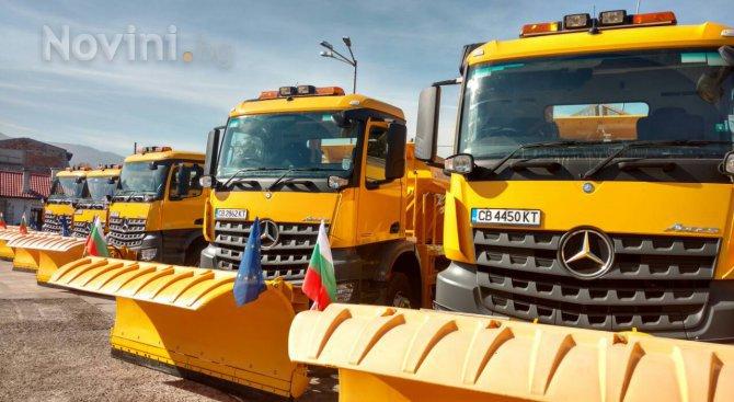 Поради валежи от сняг на Витоша е извършено снегопочистване на планинския път Драгалевци – Алеко