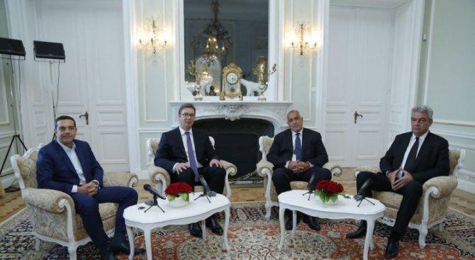 Борисов ще участва в Съвета за сътрудничество на високо равнище между Сърбия, България, Гърция и Рум