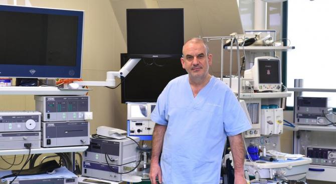 Модерен лапароскопски метод коригира пропадането на тазовите органи при жени