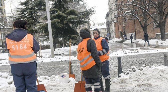 Спокойна е пътната обстановка в страната след падналия сняг