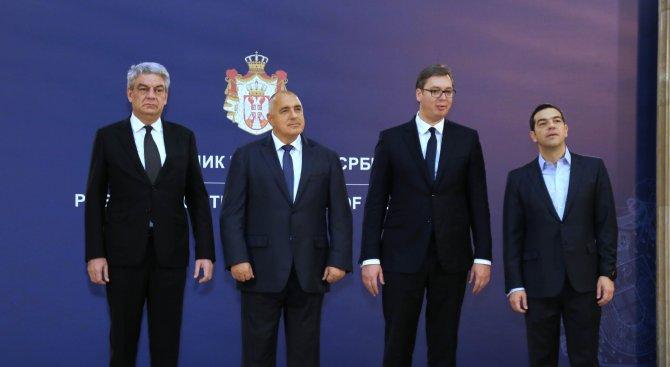 Започна срещата на Съвета за сътрудничество на високо равнище между Сърбия, България, Гърция и Румън