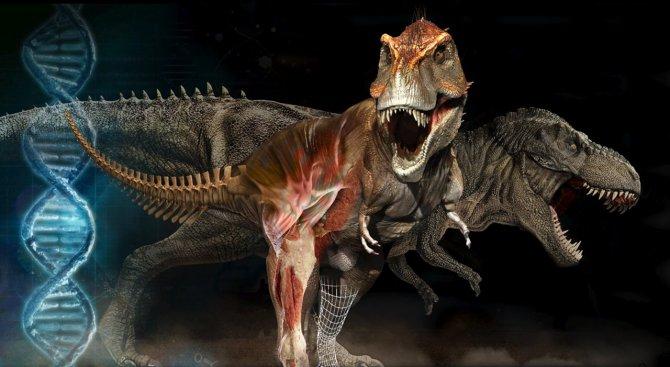 Учени пресъздадоха гласа на Тиранозавър Рекс (видео)