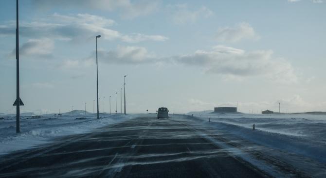 Всички магистрали са обработени със смеси срещу заледяване