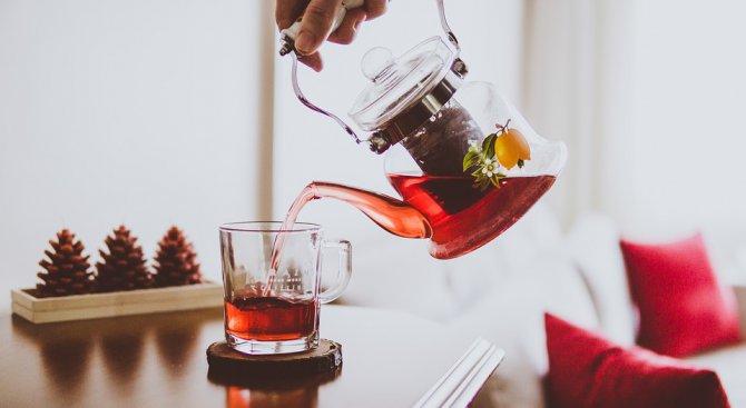Чаят и виното помагат срещу настинка и грип