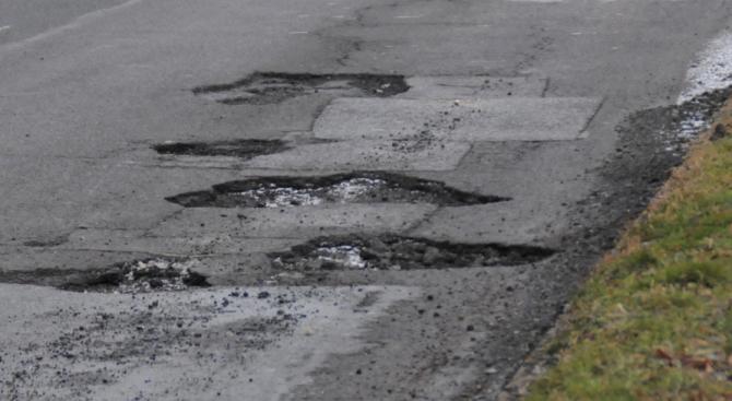 "Улица ""100-те дупки"" се появи в Свищов"