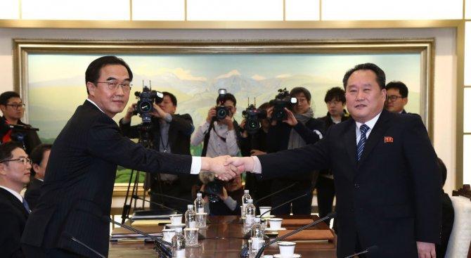 Двете Кореи преговарят за плана на Севера да изпрати арт трупа на Зимните олимпийски игри
