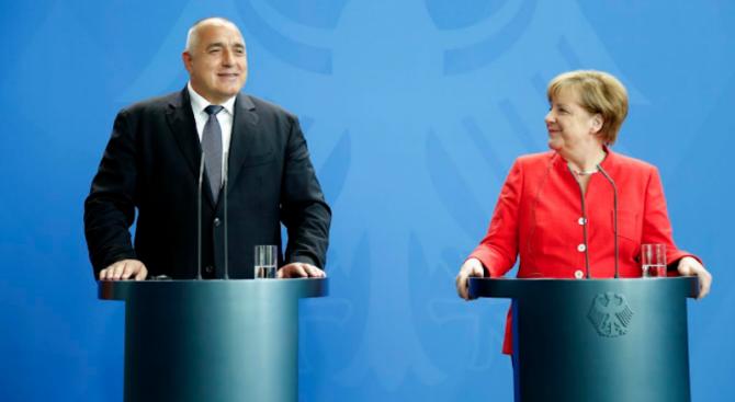 Меркел идва в София