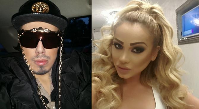 Плеймейтката Нора Недкова наби Валентин Кулагин! Гримьорът повикал полиция, за да се спаси