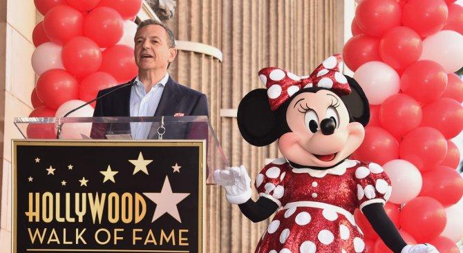 Мини Маус получи звезда на Алеята на славата (снимки)