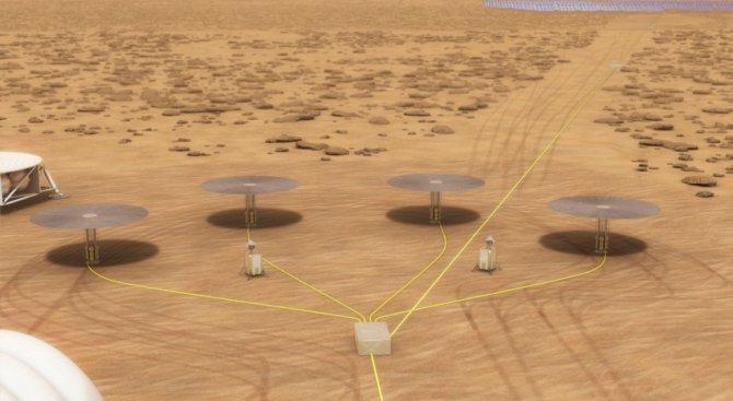 НАСА тества ядрен реактор за Марс