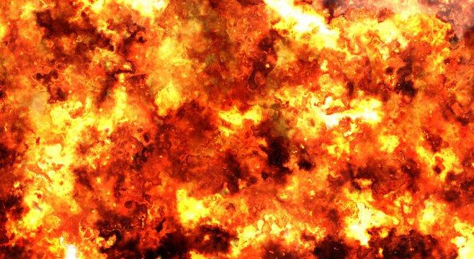 Старец загина при пожар в мазе в Плевен