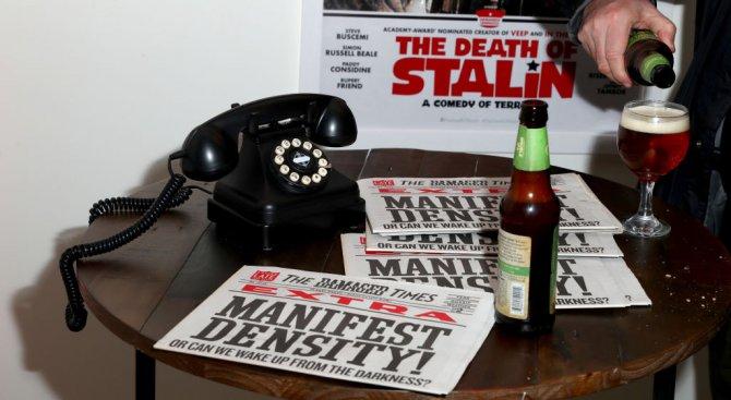 """В Русия забраниха премиерата на британския филм """"Смъртта на Сталин"""""""