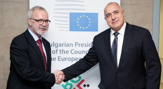 Борисов се срещна с президента на Европейската инвестиционна банка