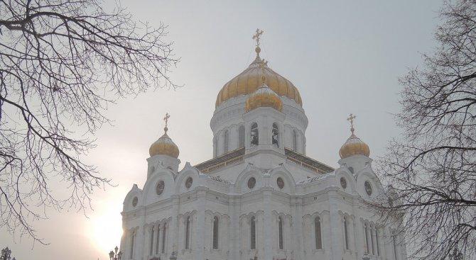 Тази нощ е била най-студената в Москва от началото на зимата
