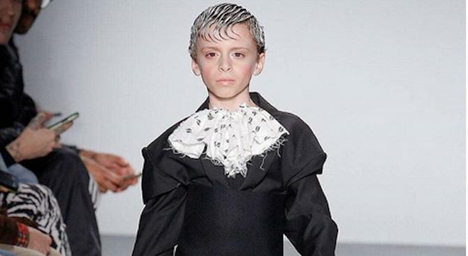 Джендър дете бе хитът на програмата по време на Нюйоркската седмица на модата (снимки)