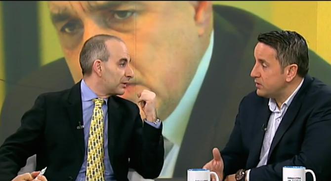 Харизанов и Волгин в разгорещен спор за последните политически скандали (видео)