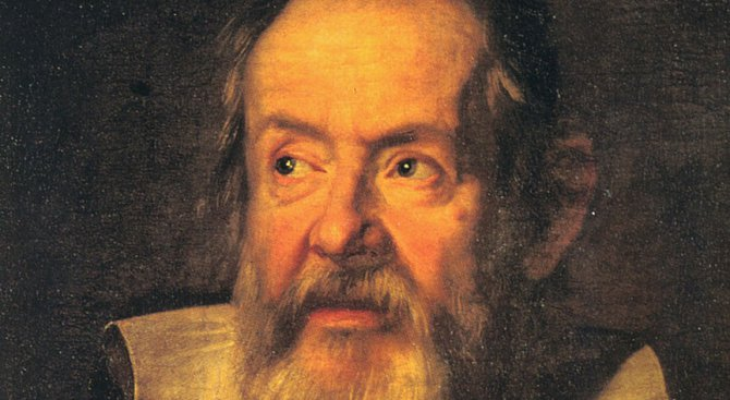 На 15 февруари, 1564, е роден Галилео Галилей