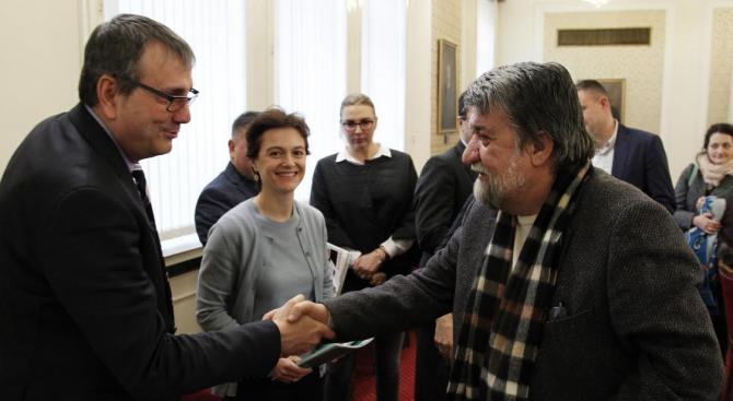 Вежди Рашидов се срещна с ръководителите на европейски организации за защита на авторските права