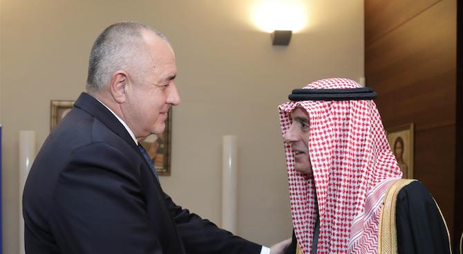 Борисов и външният министър на Саудитска Арабия препотвърдиха постигнатите в Риад договорености (сни